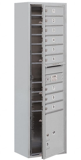 3716S09 Surface Mount Commercial 4C Mailboxes