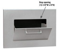 Salsbury Parcel Drop Open Door Dimensions