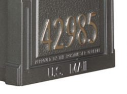 Special Lite Berkshire Mailbox Front Address