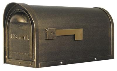 Classic Post Mount Locking Mailbox