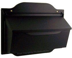 Special Lite Contemporary Horizontal Mailbox Black