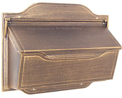 Special Lite Contemporary Horizontal Mailbox Bronze