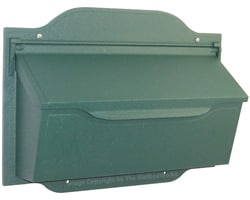 Special Lite Contemporary Horizontal Mailbox Evergreen