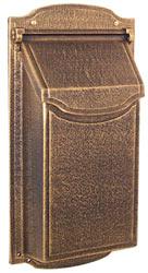 Special Lite Contemporary Vertical Mailbox Bronze