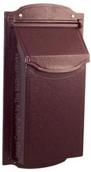 Special Lite Contemporary Vertical Mailbox Burgundy