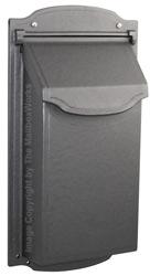 Special Lite Contemporary Vertical Mailbox Gunmetal