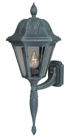 Special Lite Floral Long Tail Wall Bottom Mount Outdoor Exterior Light