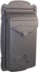 Special Lite Floral Vertical Mailbox Gunmetal