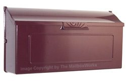 Special Lite Horizon Mailbox Burgundy
