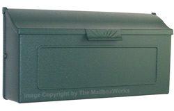 Special Lite Horizon Mailbox Evergreen