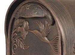 Special Lite Hummingbird Mailbox Close Up