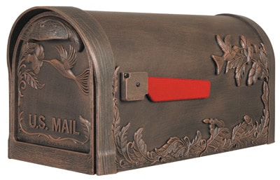Special Lite Hummingbird Post Mount Mailbox