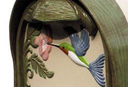 Hummingbird Natural Post Mount Mailbox Details