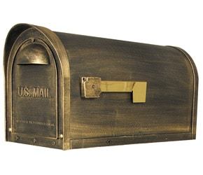 Special Lite Products Classic Mailbox Bronze