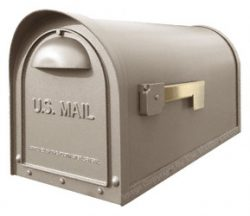 Special Lite Products Classic Mailbox Champagne