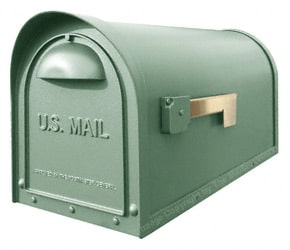 Special Lite Products Classic Mailbox Evergreen
