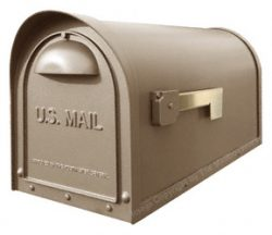 Special Lite Classic Mailbox Frosted Umber
