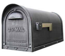Special Lite Classic Mailbox Swedish Silver