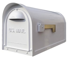 Special Lite Products Classic Mailbox White