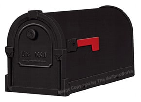 Special Lite Savannah Mailboxes Black
