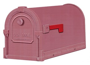 Special Lite Savannah Mailboxes Burgundy