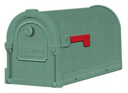 Special Lite Savannah Mailboxes Evergreen
