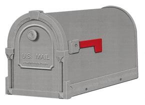 Special Lite Savannah Mailboxes Gunmetal