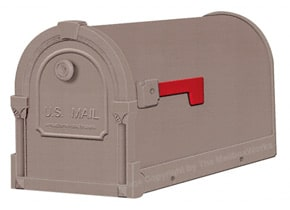 Special Lite Savannah Mailboxes Mocha