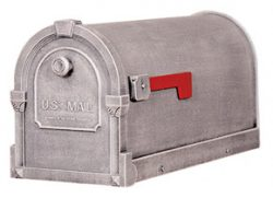 Special Lite Savannah Mailboxes Swedish Silver