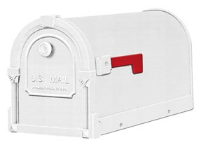 Special Lite Savannah Mailboxes White