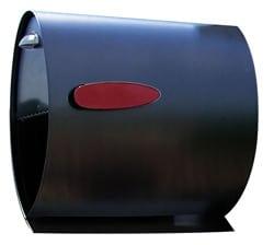 Spira Post Mount Mailbox Black