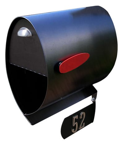 Spira Stainless Steel Post Mount Mailboxes
