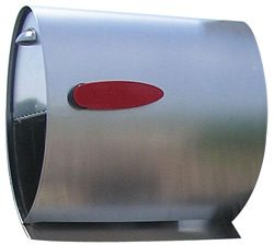 Spira Post Mount Mailbox Stainless Steel