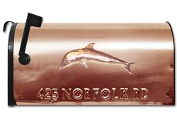 Still River Copper Mailbox Dolphin