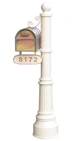 Streetscape Westchester Mailbox with Newport Post