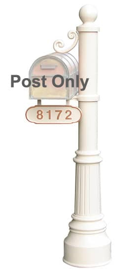 Streetscape Newport Mailbox Post Product Image