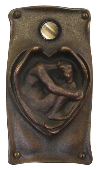 Waterglass Studios Art Nouveau Door Bell