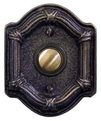 Waterglass Studios Classic Brass Door Bell