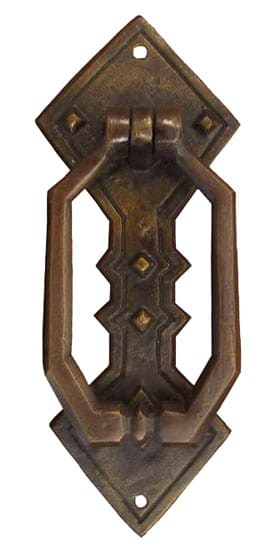 Waterglass Studios Mission Brass Door Knocker