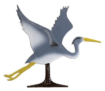 Whitehall Blue Heron Traditional Weathervane