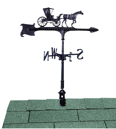 Whitehall Country Doctor Accent Weathervane