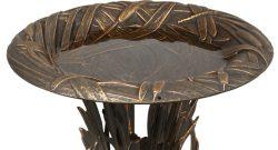 Whitehall Dragonfly Pedestal Bird Bath Details