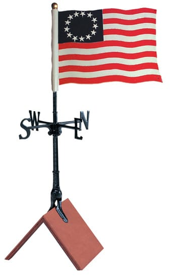 Whitehall 30 Liberty Flag Color Weathervane