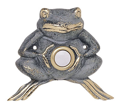Whitehall Froggie Solid Brass Door Bell Product Image