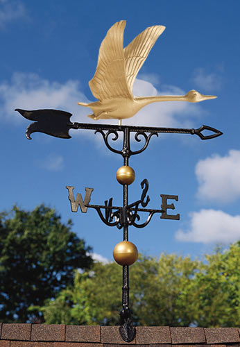Whitehall 30 Inch Goose Traditional Weathervane