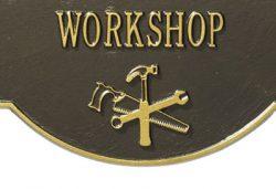 Whitehall Workshop Hobby Plaque Details