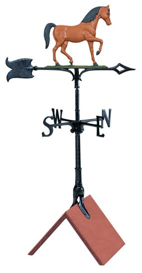 Whitehall 30 Inch Horse Color Weathervane