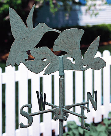 Whitehall Hummingbird Garden Weathervane