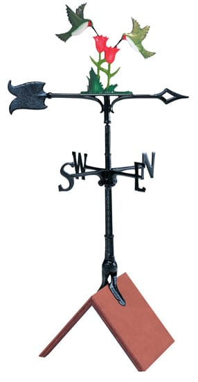 Whitehall 30 Inch Hummingbird Color Weathervane