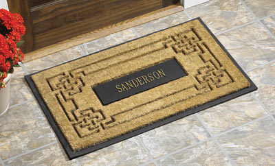 Whitehall Knot Coir Door Mat Product Image